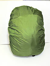Чехол дождевик на рюкзак 60, олива