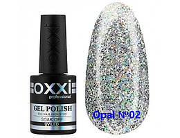 Гель-лак OXXI Professional, Opal №02  с шиммером