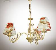 Люстра в стиле прованс трехламповая 11503-2