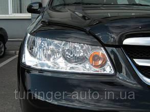 Реснички на фары Chevrolet Lacetti 2004-2012 (ANV)