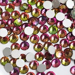 Стразы Розовый Хамелеон № 3, 100 шт, 1.2мм
