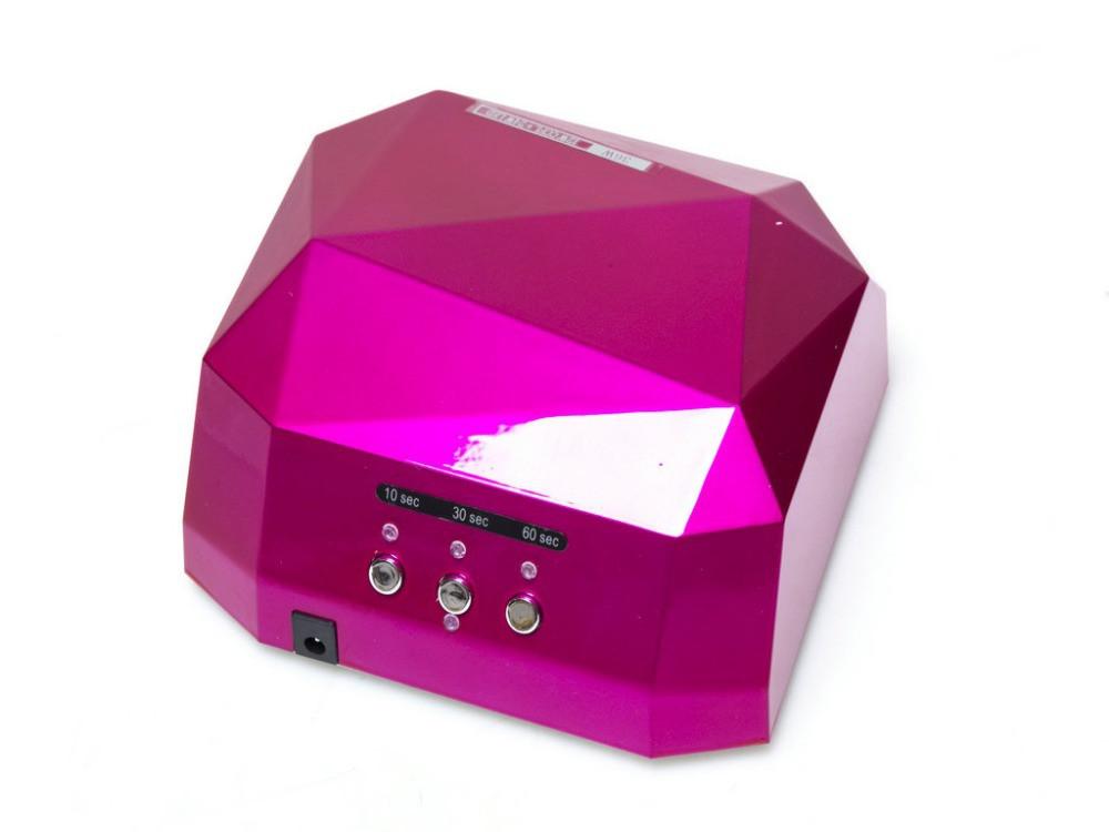Гибридная лампа CCFL+LED  12w+24w, малиновая