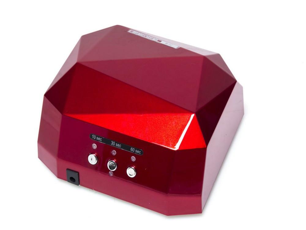 Гибридная лампа CCFL+LED  12w+24w, красная