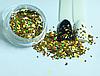 Ромбики для дизайну нігтів, Золотий голографик, 1 000 шт, фото 3