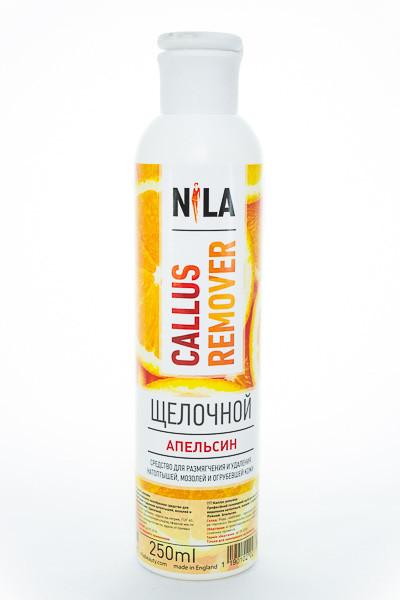 Nila Callus remover щелочной,  Апельсин,  250 мл