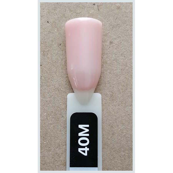 Гель-лак Kodi Professional 40M, Розово-бежевый, прозрачный с едва уловимым шиммером