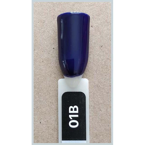 Гель-лак Kodi Professional 01B, Темно-синий, стекло