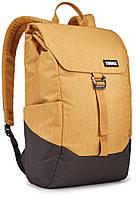 Рюкзак с отделением для ноутбука Thule Lithos 16л Backpack Wood Trush/Black (желтый-черный), фото 1