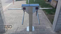 Турникет CENTURION TWIN полированная нержавеющая сталь AISI 304