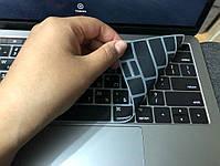 """Силіконова накладка на клавіатуру MacBook Air Pro 13, 15"""" з російськими літерами (наклейки), фото 4"""