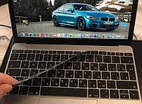 """Силіконова накладка на клавіатуру MacBook Air Pro 13, 15"""" з російськими літерами (наклейки), фото 6"""