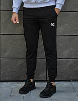 Чоловічі спортивні брюки логотип NYU, 2 кольори S M L XL | мужские трикотажные штаны спортивные 46 48 50 52