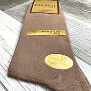 Шкарпетки чоловічі 100% шовковий бавовна Marjinal, Туреччина, ароматизовані, без шва, бежеві, 779, фото 2
