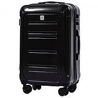 Средний чемодан 100 % POLICARBON Wings PC175 на 4 колесах размер M, фото 1