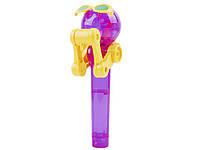 Игрушка-держатель для леденцов Mezo  Фиолетовый с желтым