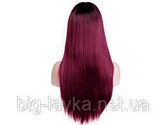 Парик из искусственных волос Sunshine  Красный