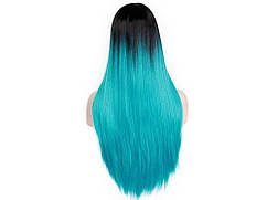 Парик из искусственных волос Sunshine  Синий