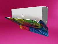 Отражатель для кондиционера с печатью изображения шириной 700мм (Толщина акрила : 3 мм; ), фото 1