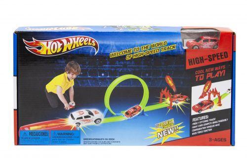 """Трек запуск """"Hot Wheels""""Трек детский с машинкой. HW201"""