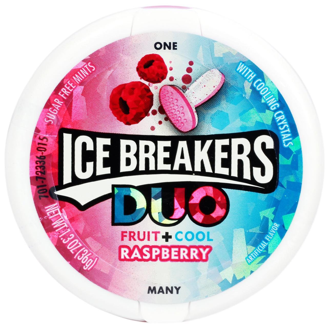 Жвачки Ice Breakers Duo Raspberry 36 g