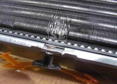 Радиатор охлаждения ГАЗ 3302 (3-х рядный) (под рамку) 51 мм   Дорожная карта (1-й сорт), фото 2