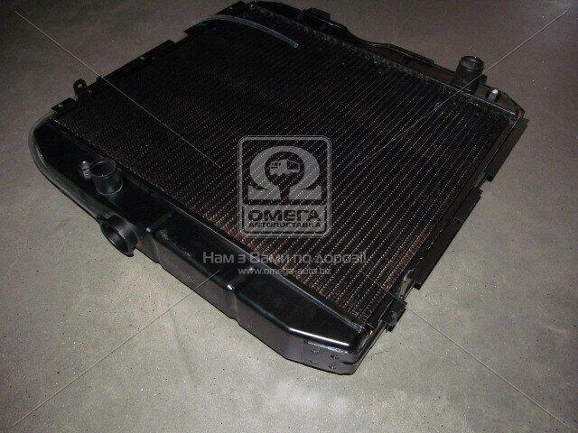 Радіатор охолодження ПАЗ 3205 (3-х рядний) мідний (ДК)