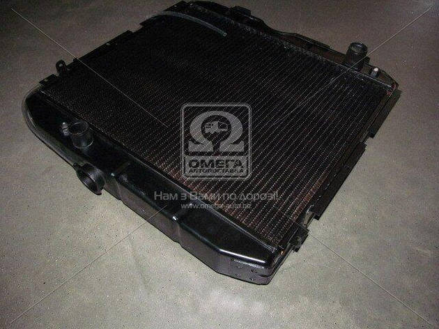 Радіатор охолодження ПАЗ 3205 (3-х рядний) мідний (ДК), фото 2