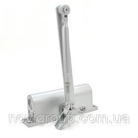 Доводчик Merlion MRC-2545, зусилля 25-45 кг, срібло