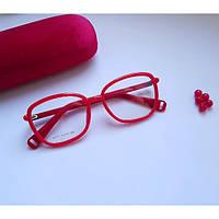 Красная квадратная оправа для зрения Jacopo 61747