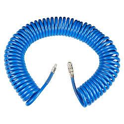 Шланг спиральный полиуретановый 8х12мм PU 15м Sigma 7012231