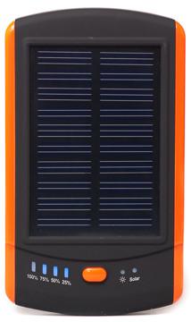 Універсальна мобільна батарея сонячна PowerPlant/MP-S6000/6000mAh/