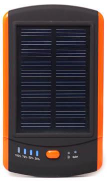 Універсальна мобільна батарея сонячна PowerPlant/MP-S6000/6000mAh/, фото 2