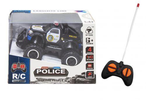 """Джип на радиоуправлении """"Полиция"""" черный 6146G/6146H"""