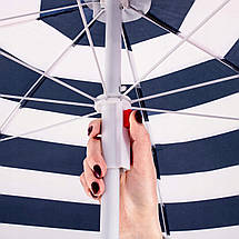 Пляжный зонт с регулируемой высотой и наклоном Springos 180 см BU0012, фото 3