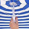Пляжный зонт с регулируемой высотой и наклоном Springos 180 см BU0008, фото 4