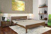 Кровать деревянная двухспальная Роял орех. ТМ Arbor Drev. Акция -10%