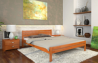 Кровать деревянная двухспальная Роял ольха. ТМ Arbor Drev. Акция -10%