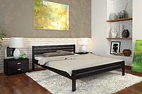 Кровать деревянная двухспальная Роял венге. ТМ Arbor Drev. Акция -10%
