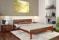 Кровать деревянная двухспальная Роял яблоня локарно. ТМ Arbor Drev. Акция -10%