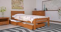 Кровать деревянная односпальная Роял ольха. ТМ Arbor Drev.