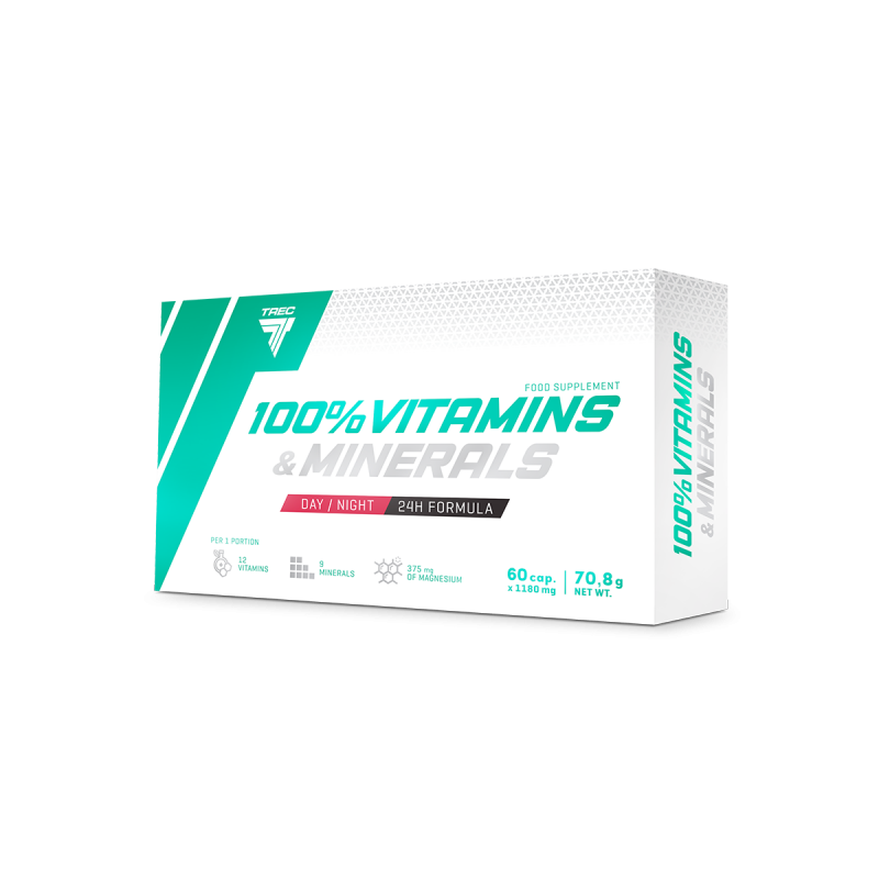 Trec Nutrition 100% Vitamins & Minerals caps 60
