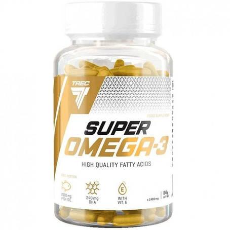 Trec Nutrition Super Omega-3 60 caps, фото 2