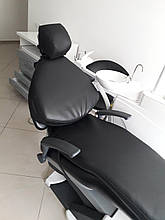 Черный матрас для стоматологического кресла