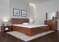 Кровать деревянная двухспальная Домино яблоня локарно. ТМ Arbor Drev. Акция -10%