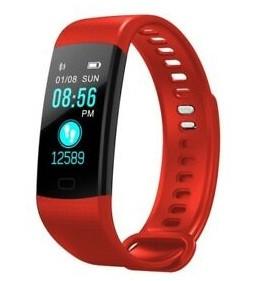 Умный фитнес браслет Smart Band Y5 с тонометром red