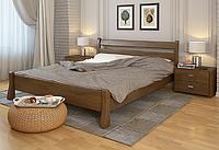 Кровать деревянная двухспальная Венеция орех. ТМ Arbor Drev. Акция -10%