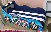 Кровать машина Феррари ШОК с матрасом от 1500х700, фото 1