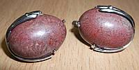 """Сережки з океанічним коралом """"Локон"""" від студії LadyStyle.Biz, фото 1"""