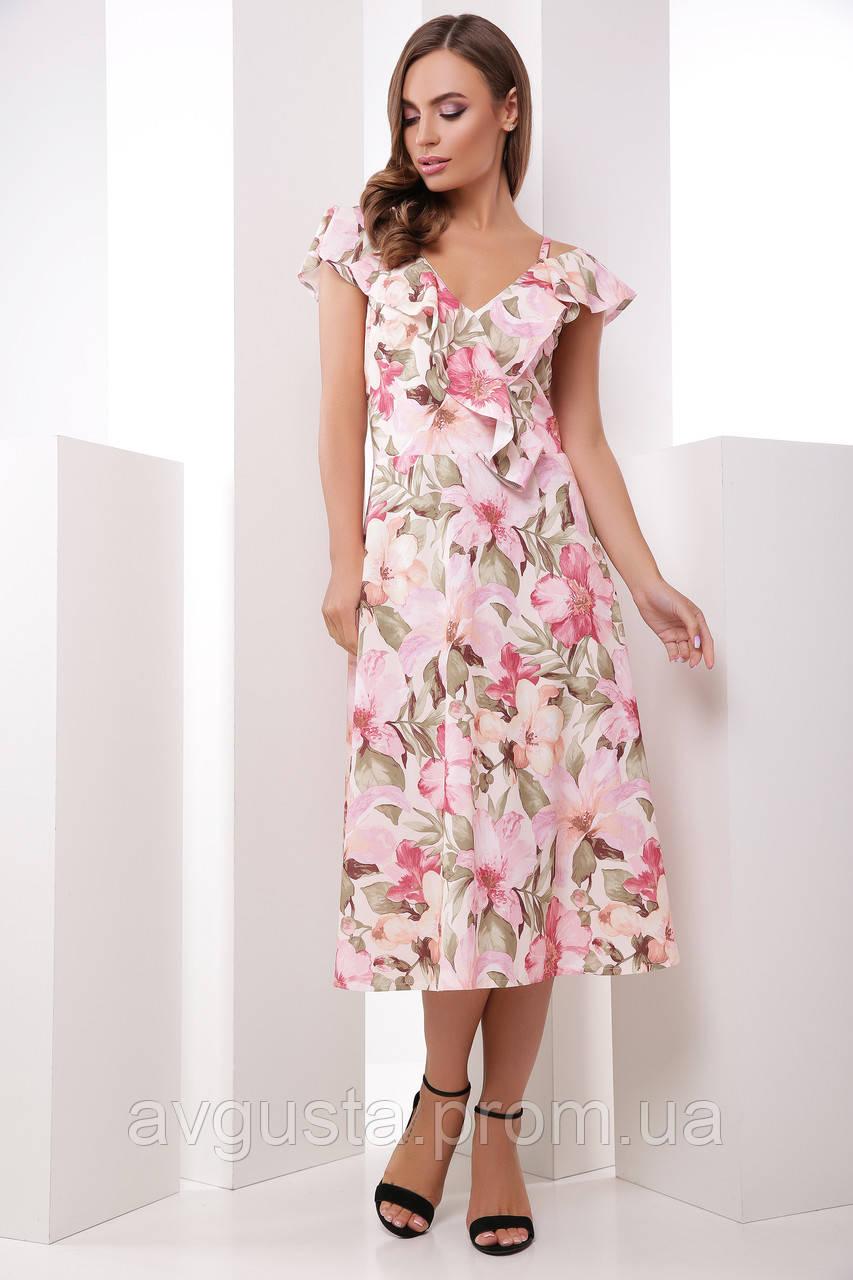 Платье 1857 розовый