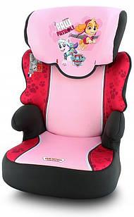 Автокресло NANIA BEFIX SP ANIMALS ZEBRE (9-36 кг)  Patrol Pink